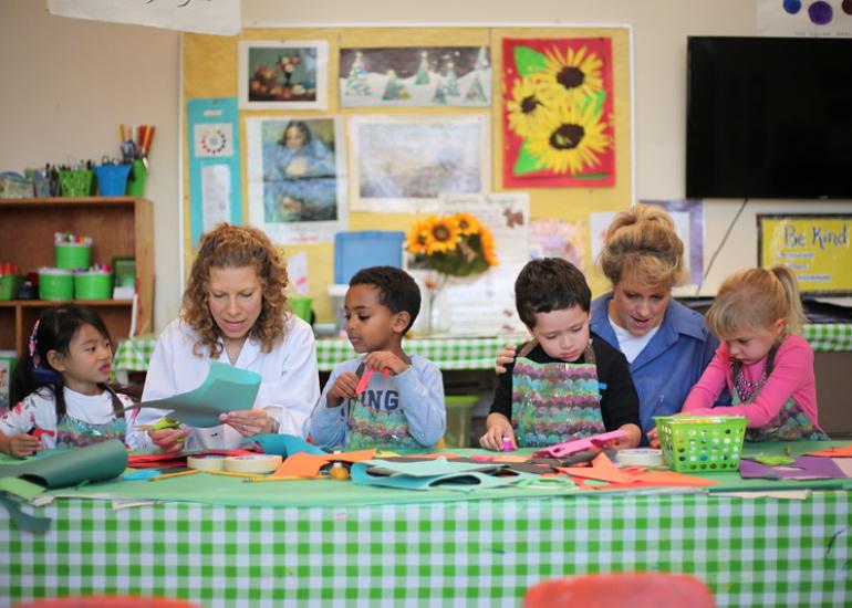 Preschool, PreK and Kindergarten Bethesda - Nursery School Maryland