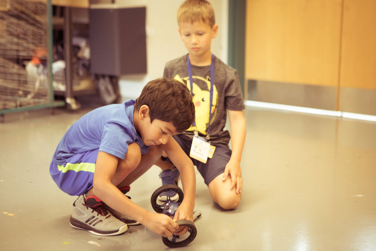 Robot Camp in Bethesda Maryland - STEM Summer Camp